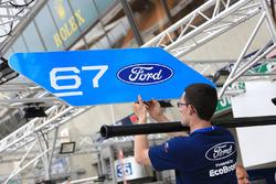 Ford Chip Ganassi Racing Ford GT Pit board señal