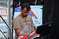 BMW Motorrad Motorsport Engineer Kurt Boeck