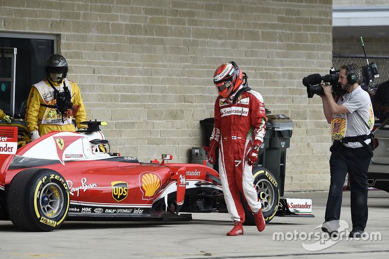 Abandon - Kimi Räikkönen (Ferrari)
