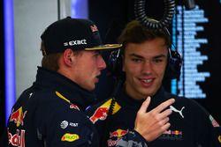 Max Verstappen, Red Bull Racing con Pierre Gasly, Red Bull Racing piloto de pruebas