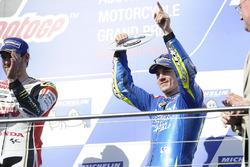 Podium : le troisième Maverick Viñales, Team Suzuki Ecstar MotoGP