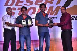 Winners XTreme Cars Suresh Rana and Ashwin Naik