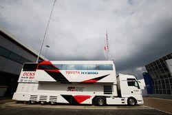 Toyota Racing motorhome