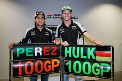 Sahara Force India F1 Team celebran 100 Grandes Premios con Nico Hulkenberg y Sergio Pérez, Sahara F