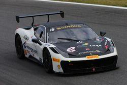 Del Prete-Caso, Victoria Speed M,Ferrari 458 Challenge Evo-GTCup #160