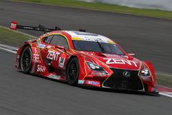 #38 Team Zent Cerumo, Lexus RC F: Yuji Tachikawa, Hiroaki Ishiura