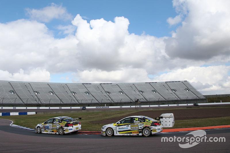 Dave Newsham, Power Maxed Racing, Hunter Abbott, Power Maxed Racing