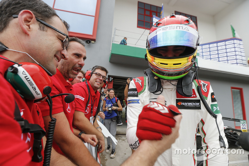 Winnaar Lance Stroll, Prema Powerteam Dallara F312 – Mercedes-Benz