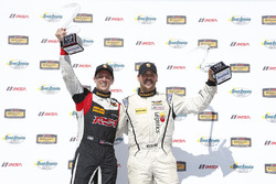 ST Podio: primer lugar #17 RS1 Porsche Cayman: Nick Galante, Spencer Pumpelly