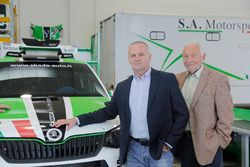 Michal Hrabánek, SKODA Motorsport Team Chief, Pavel Hortek, SKODA Motorsport Team Manager