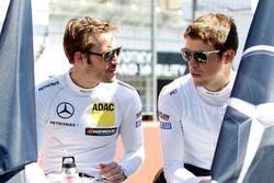 Максимилиан Гётц, Mercedes-AMG Team HWA, Mercedes-AMG C63 DTM и Пол ди Реста, Mercedes-AMG Team HWA,