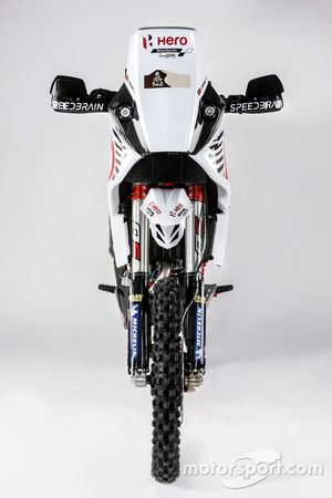 La moto di Joaquim Rodrigues, Hero MotoSports Team Rally