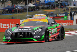 #222 Scott Taylor Motorsport, Mercedes-AMG GT3: Craig Baird, Scott Taylor