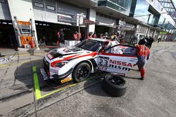 #23 Nissan GT Academy Team, Nissan GT-R Nismo GT3: Alex Buncombe, Mitsunori Takaboshi