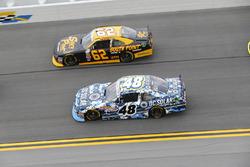 Brennan Poole, Chip Ganassi Racing, Chevrolet; Brendan Gaughan, Richard Childress Racing, Chevrolet