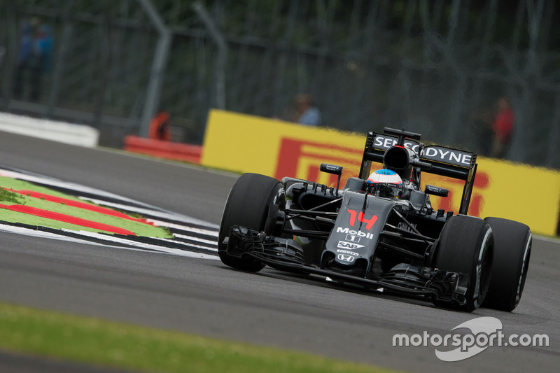 9. Fernando Alonso, McLaren MP4-31