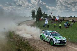 Esapekka Lappi, Janne Frem, Skoda Motorsport, Skoda Fabia R5