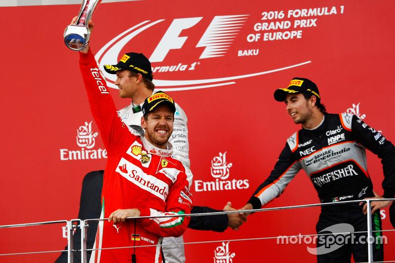 Sebastian Vettel, segundo colocado