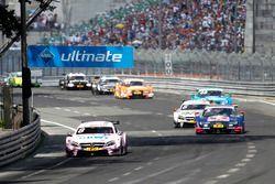 Christian Vietoris, Mercedes-AMG Team Mücke, Mercedes-AMG C63 DTM; Mattias Ekström, Audi Sport Team