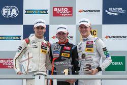 podium, Lance Stroll, Prema Powerteam Dallara F312 - Mercedes-Benz, Anthoine Hubert, Van Amersfoort