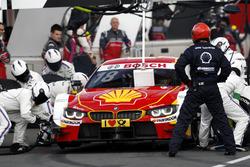 Pit stop Augusto Farfus, BMW Team MTEK, BMW M4 DTM