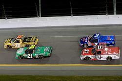 Grant Enfinger, GMS Racing Chevrolet, Johnny Sauter, GMS Racing Ford