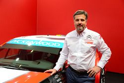 Yvan Muller con el Citroën C-Elysee WTCC, Citroën World Touring Car team 2016