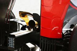 Haas VF-16, dettaglio dello scarico