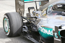 Detail hintere Radaufhängung, Lewis Hamilton, Mercedes AMG F1 Team W07