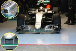 Detail, Lewis Hamilton, Mercedes AMG F1 Team W07