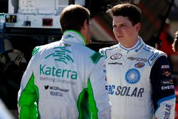 Justin Marks, Chip Ganassi Racing Chevrolet and Brennan Poole, Chip Ganassi Racing Chevrolet