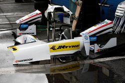 Bodywork of the car of Arjun Maini, ThreeBond with T-Sport, Dallara F312 – ThreeBond
