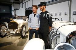 Lewis Hamilton, Mercedes AMG F1 Team en Nico Rosberg, Mercedes AMG F1 Team