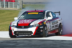 #91 Honda Accord V6 Coupe: Nick Wittmer en problemas