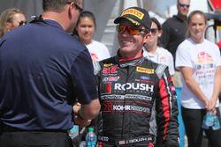 Ganador de la carrera Jack Roush Jr.