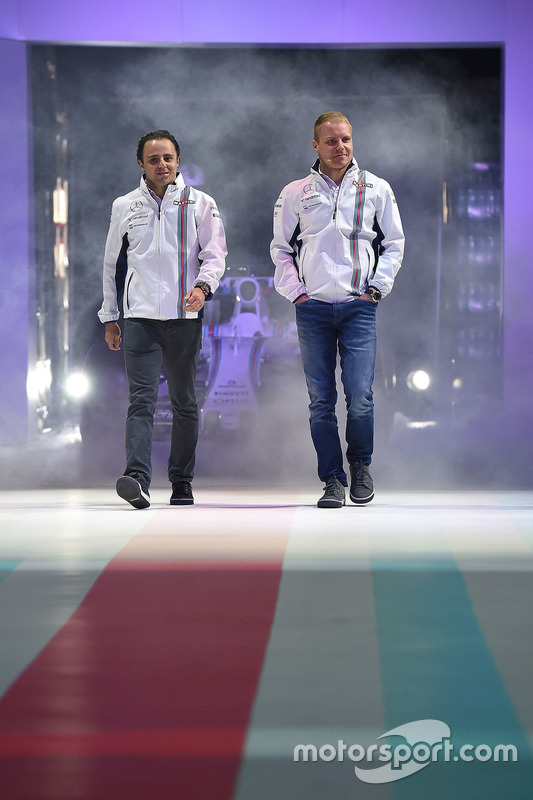 Felipe Massa, Williams und Valtteri Bottas, Williams