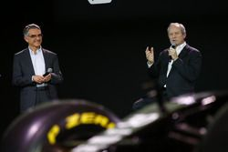 Jerome Stoll, Renault Sport F1 president met Patrice Ratti, Renault Sport Technologie general manag