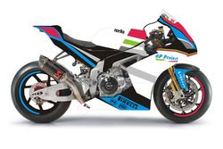 Aprilia RSV4 RF, Team GP Project, la livrea