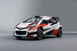 Farbdesign für Toyota in der Rallye-WM (WRC)