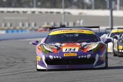#134 Ferrari de Atlanta Ferrari 458: Michael Watt