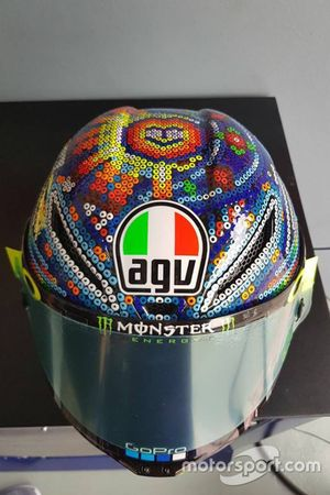 Helmet of Valentino Rossi, Yamaha Factory Racing