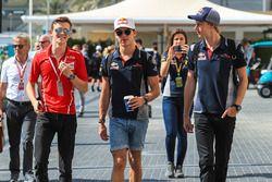 Callum Ilott, Ferrari Driver Academy WITH Pierre Gasly, Scuderia Toro Rosso and Brendon Hartley, Scuderia Toro Rosso