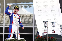 Podium: race winner Dorian Boccolacci, Trident