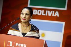 Вильма Аланока Мамани, министр культуры и туризма Боливии