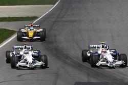 Robert Kubica, BMW Sauber F1.08, Nick Heidfeld, BMW Sauber F1.08, Fernando Alonso, Renault R28