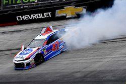 A.J. Allmendinger, JTG Daugherty Racing, Chevrolet Camaro Kroger ClickList slides through turn two