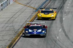 #66 Chip Ganassi Racing Ford GT, GTLM: Dirk Müller, Joey Hand, #3 Corvette Racing Chevrolet Corvette