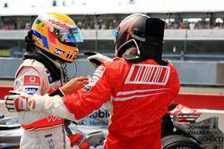Льюис Хэмилтон, McLaren и Кими Райкконен, Ferrari