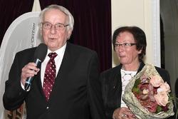 Daniel Fausel con sua moglie