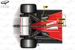Сравнение Ferrari F2012 и F150: вид сверху